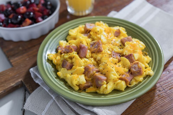 Ham and Eggs Scramble